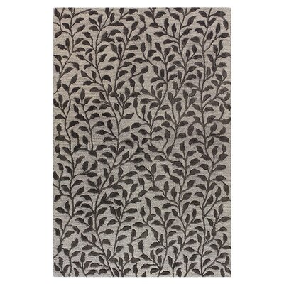 Rodman Hand-Tufted Wool Black Area Rug Rug Size: Runner 26 x 8