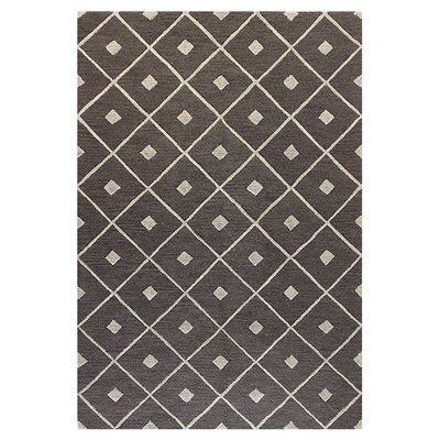 Rohrsburg Hand-Tufted Taupe Area Rug Rug Size: 5 x 76