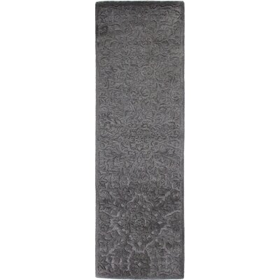 Rossiter Taupe Area Rug Rug Size: Runner 26 x 8