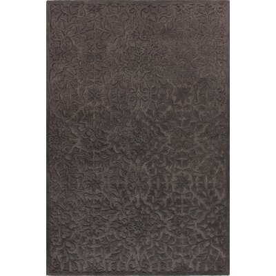Rossiter Taupe Area Rug Rug Size: 36 x 56