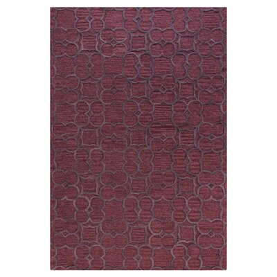 Rothsville Plum Area Rug Rug Size: 5 x 76