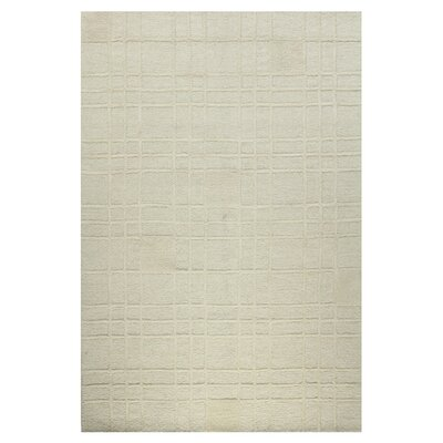 Rouseville Ivory Area Rug Rug Size: 3'6