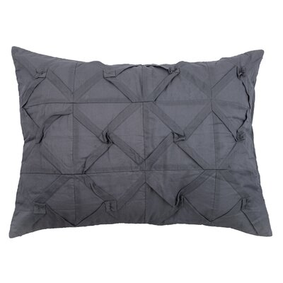 Rutherford Sham Size: Standard, Color: Charcoal