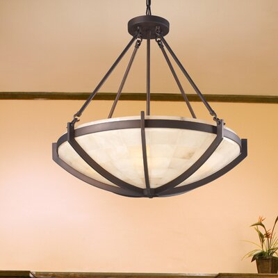 Midland 6-Light Squared Design Chandelier