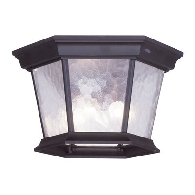 Christian 3-Light Flush Mount Finish: Bronze