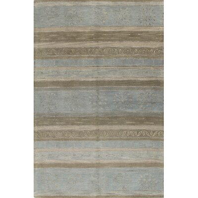 Ald Hand-Tufted Multi-color Area Rug Rug Size: 79 x 99