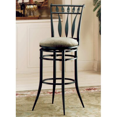 Avila 25.75 Swivel Bar Stool with Cushion