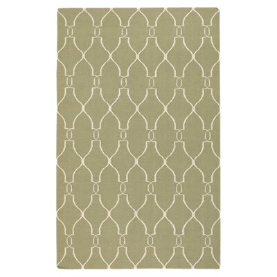 Sayre Sage Green Area Rug Rug Size: Rectangle 8 x 11
