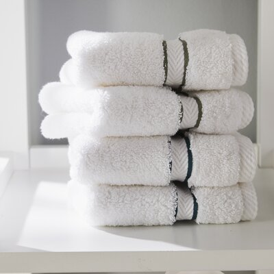 Patric Solid 6 Piece Towel Set Color: Navy Blue