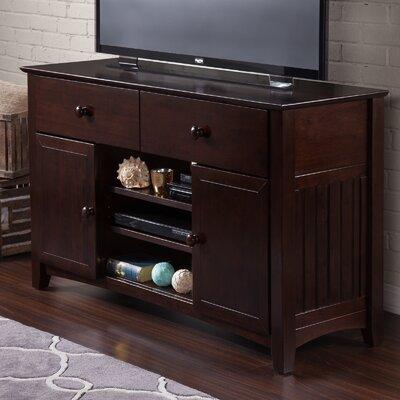 Pinckney 50 TV Stand Color: Espresso