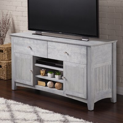 Pinckney 50 TV Stand Color: Driftwood Gray