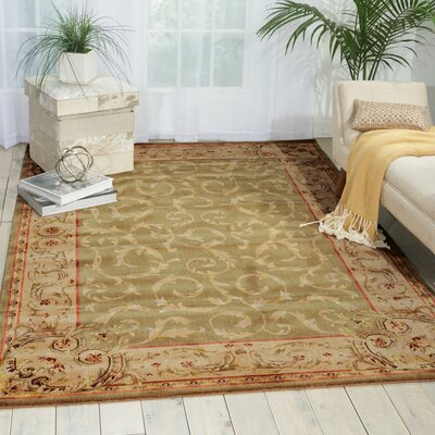 Chalet Light Green Area Rug Rug Size: Rectangle 13 x 21