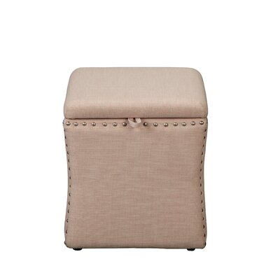 Sawiris Storage Ottoman Color: Beige
