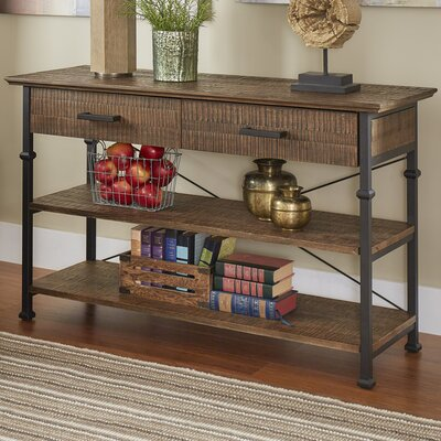 Roxborough Media Console Table Finish: Brown