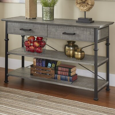 Roxborough Media Console Table Finish: Gray