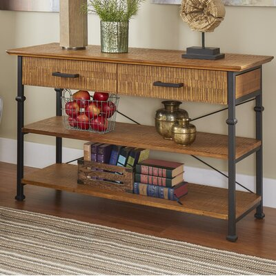 Roxborough Media Console Table Finish: Oak
