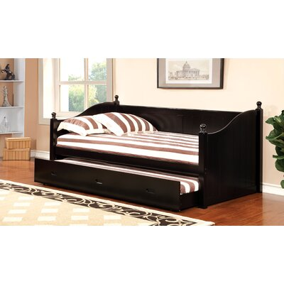 Prospect Daybed with Trundle Color: Black