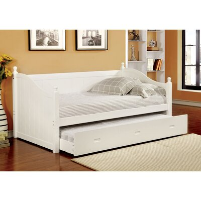 Prospect Daybed with Trundle Color: White