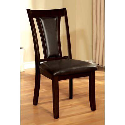 Wilburton Side Chair Upholstery: Espresso