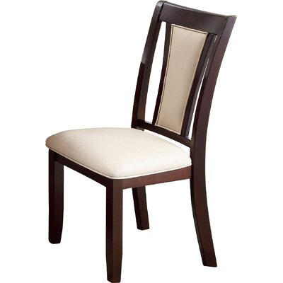 Wilburton Side Chair Upholstery: Ivory
