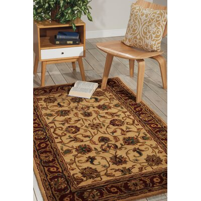 Delaware Light Gold Area Rug Rug Size: 39 x 59