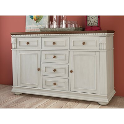 Amandes Sideboard Color: White