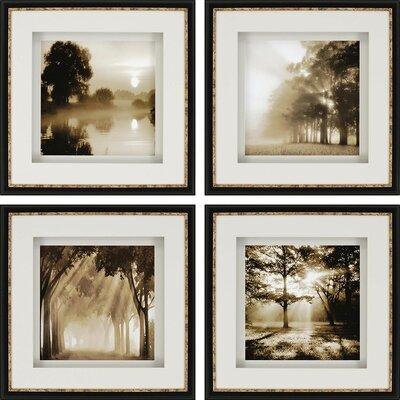 'Reflections' 4 Piece Photographic Print Set