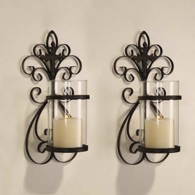 Traditional Scroll Iron Sconce