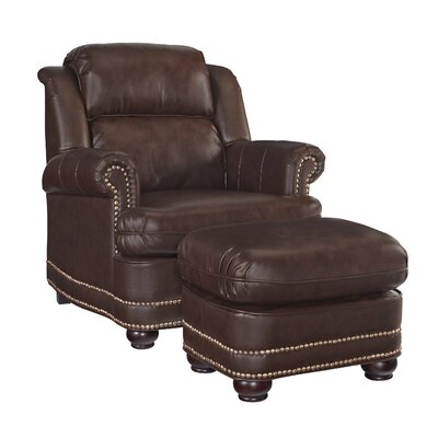 Fawnridge Club Chair Upholstrey: Brown