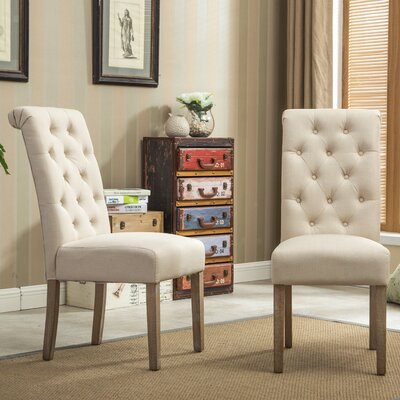 Ferdinand Parsons Chair Upholstery: Tan