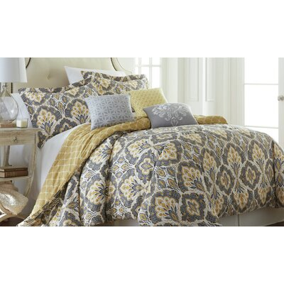 Ferguson 6 Piece Comforter Set Size: King