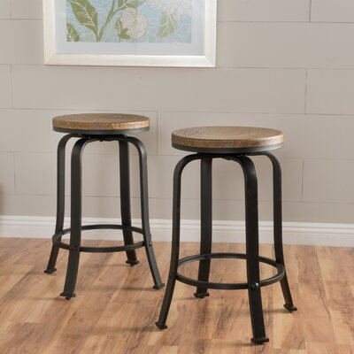 Fortville 24 Swivel Bar Stool