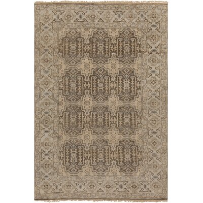 Eller Beige/Slate Rug Rug Size: Rectangle 56 x 86
