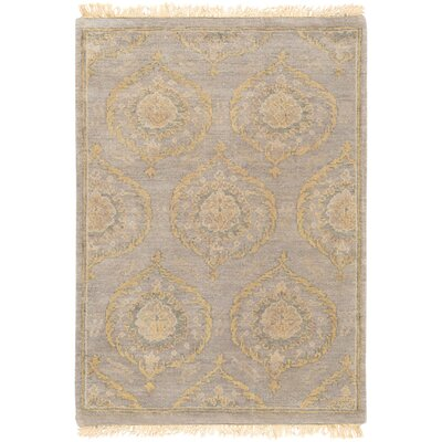 Palmwood Gray/Mocha Rug Rug Size: Rectangle 2 x 3