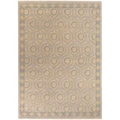 Palmwood Gray/Mocha Rug Rug Size: Rectangle 10 x 14