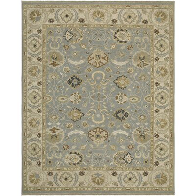 Sagebrush Hand-Woven Khaki/Dark Brown Area Rug Rug size: 6 x 9