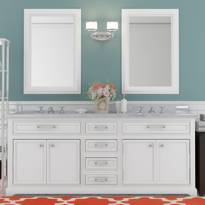 Alba 72 Double Sink Bathroom Vanity Set