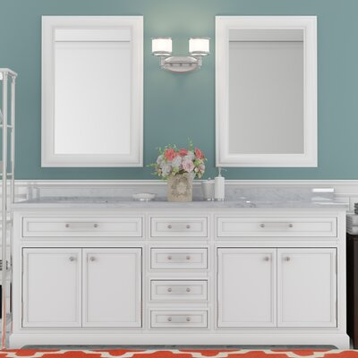 Alba 72 Double Sink Bathroom Vanity Set