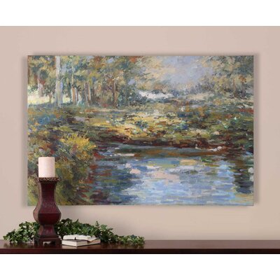 'Lake James' Painting on Canvas