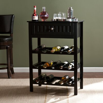 Raabe 15 Bottle Floor Wine Rack