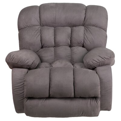 Ragland Manual Rocker Recliner Upholstery: Graphite