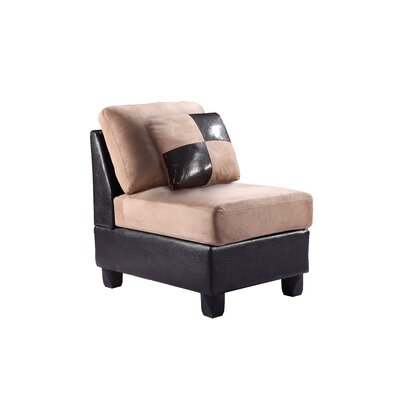 Childress Potsdam Slipper Chair Upholstery: Mocha