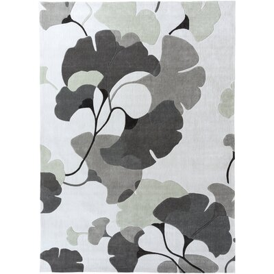 Chu Gray/Oatmeal Rug Rug Size: Rectangle 36 x 56