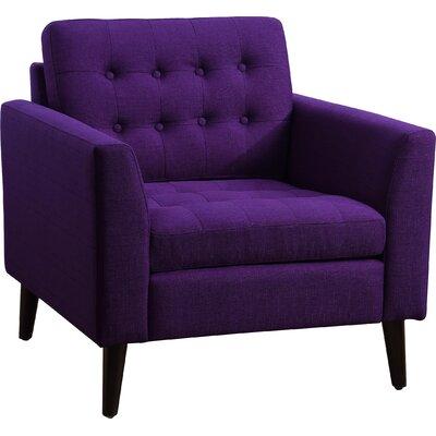Starner Tufted Armchair Upholstery: Radiant Violet