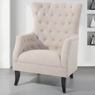 Pursell Arm Chair Upholstery: Beige
