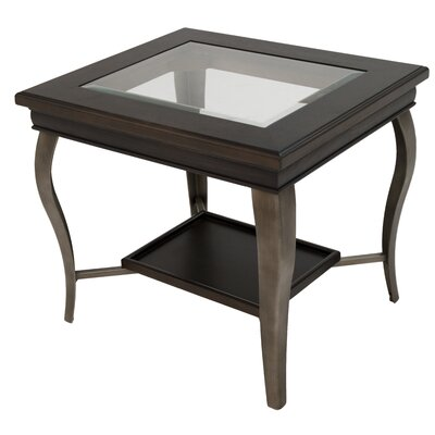 Eagleville End Table Finish: Rustic Silver