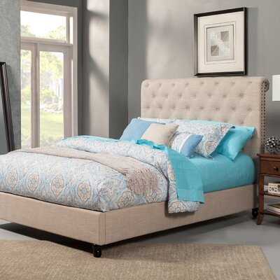 Earlston Upholstered Panel Bed