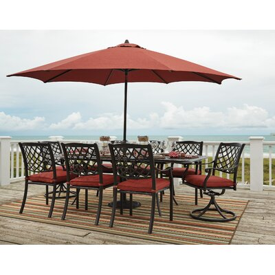 Blairview 7 Piece Extension Rectangular Dining Set