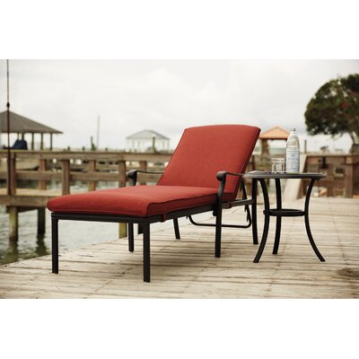 Burgett Chaise Lounge and End Table