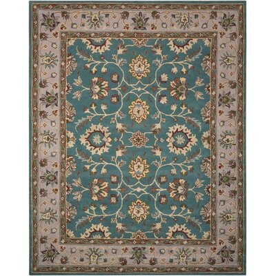 Willet Hand-Tufted Blue Area Rug